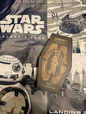 Disney Star Wars: Galaxy's Edge SABACC Cards Deck Box Unopened Brand New 3