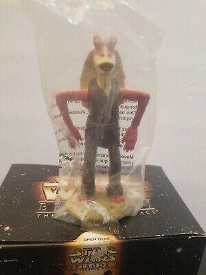 STAR WARS EPISODE 1 JOKING JAR JAR BINKD KFC Taco Bell Pizza Hut 1999 SEALED!!!! 2