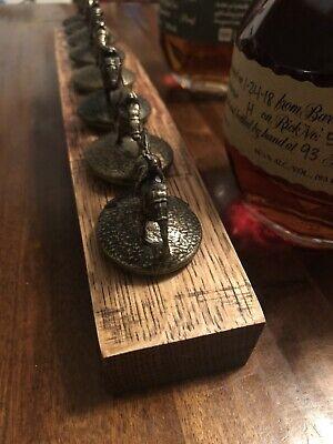 Blanton's Bourbon Cork Display Center Oak Barrel Half Stave, Blantons, Whiskey 6