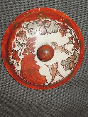 Antique Kutani Teapot With Lid-Hand Painted