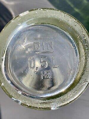 8x alte Apothekerflaschen vor 1945 Wehrmacht Lazarett Gerresheimer Glas AG 3