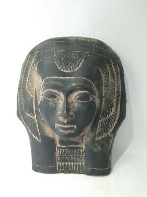 RARE ANCIENT EGYPTIAN ANTIQUE MASK QUEEN Tetisheri 1457-1390 BC 2