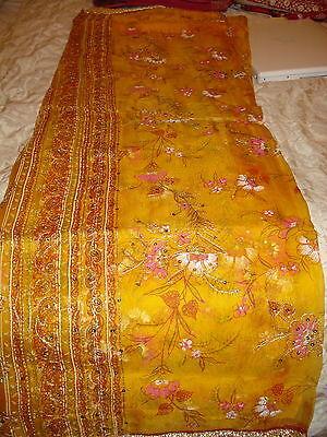 Ladies Indian Crepe Silk Saree 6