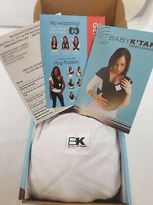 Baby K'tan ORIGINAL,BREEZE,ACTIVE Baby Carrier Black,Teal,Charcoal XXS,S,M,L,XL 8