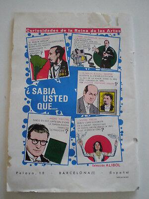 C.E.D.A.M. Nº 61 OCT 1966 Revista Magia Ilusionismo SPAIN MAGIC ILLUSIONISM MAG