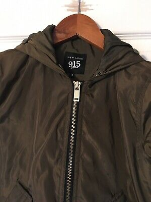 NEW LOOK ( 915 Generation ) girls green bomber jacket age 9 years 5
