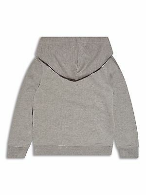 Girls Grey Floral Hoodie Various Ages 8 - 14 Free Postage 3