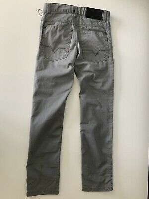 Hugo Boss Boys Slim Fit Jeans, Size Age 8 Years, 126. M, Grey, VGC 6