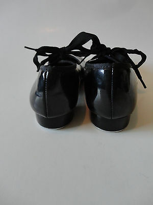ABT SPOTLIGHTS TAP SHOES Children Girls Size Black With Bow - Abt shoes