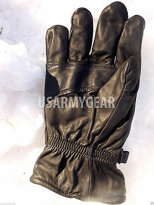 Army Leather Cold Wet Weather ICW Quality Size 3 Gloves XS,S,M Medium Womens Kid 9