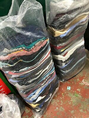 Wholesale Joblot Used Second Hand Clothes Shoes 25Kg Sacks Bags Cream, Grade 1&2 5