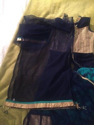 Indian Girls Lengha Dress Outfit 8-10 Years 5