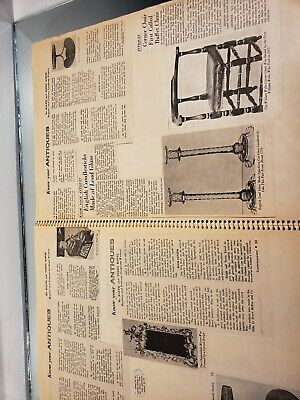VINTAGE SCRAP BOOK Know Your Antiques/Refinishing /Collections/Newspaper clips 4 9