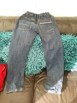 Boys Very Trendy  Stonewash Jeans Aged 8-9 Years By George 4