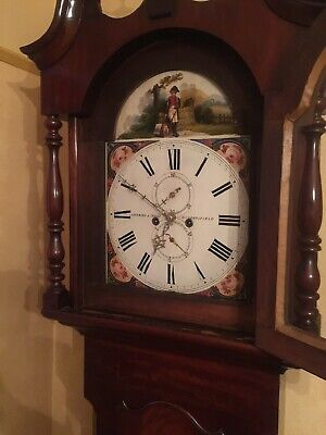 Longcase Clock Lockwood & Cooke Huddersfield Fully Working 7