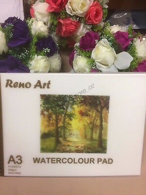 A3 Watercolour Pad 280gsm Atrist Painting Art Paper Sketchbook Sketch Drawing 2