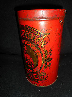 Le Pelican Rouge Cafe Torrefie Kaffeedose ca. 1920 aus Sammlungsauflösung 11