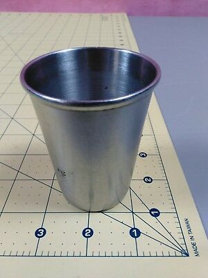 Antique American Hospital Supply Tomac Stainless Surgical Instrument Cup Tumbler