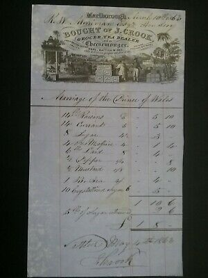 Victorian Invoice For Goods ******(See Description For Details)****** 5