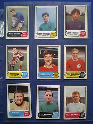 A&BC - Footballers 1969/70 - Bubblegum Cards * Choose The One's You Need * 3