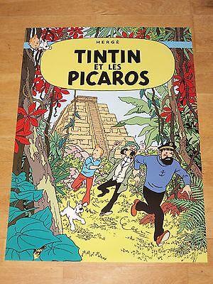 22 Tintin Poster Set - Tintin & Struppi Posters Together New Mint Top Rar 6 • CAD $117.99