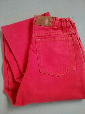 Rote Jeans, unisex, Größe 164, Basta, Vintage- Format, Maßangabe 3