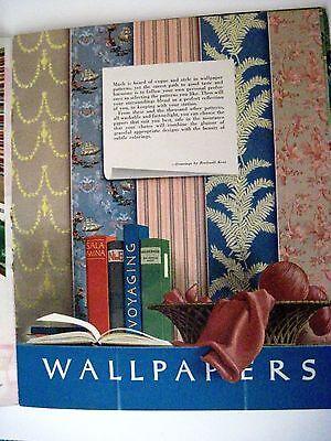"Vintage 1939 Booklet ""Home Decorator & Color Guide by Rockwell Kent (Artist) * 7"