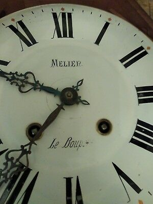 Antique French Vineyard Clock. Running and keeping time 2
