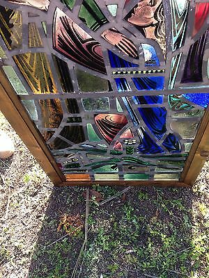 Religious Figural Window Antique 4