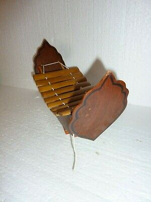 Vintage Chinese boat Xylophone Wooden 2