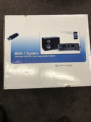 Technical Pro RX40U Receiver and Speaker Set with Remote, USB & SD Refurbished 5