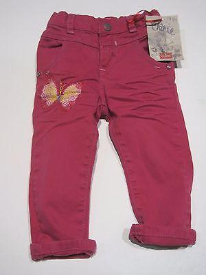 Chipie Mädchen Color Jeans, Hose  pink   Gr. 80 / 12 - 18  Mon.    NEU - 70  % 2