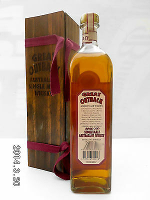 Great Outback Rare Old Australian Single Malt Whisky-Rare!!!!!!!!! 5