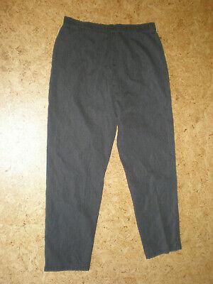 (Size 14) Riders Casuals Women's GRAY Micro Check Pants Slacks 3