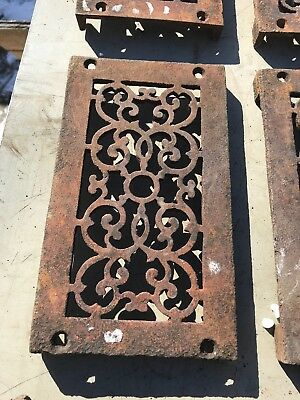 Rl 4 13 Av Price Each Antique cast-iron heating great with foot 4.75 x 8.5 4