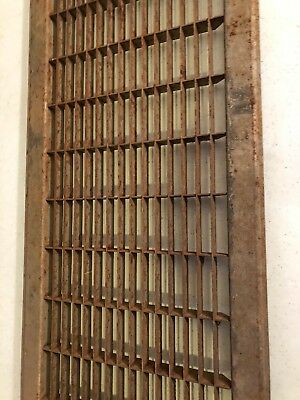 N6 Antique Sheet Metal Cold Air Return/heating Grate 4