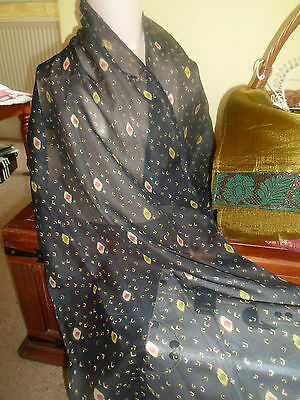 3 NEW Colourful Mixed Fibre Ethnic Short Scarves Ladies Scarf Gift Idea  #30