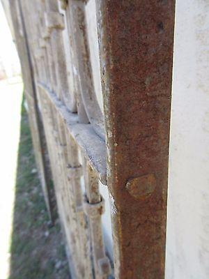 Antique Victorian Iron Gate Window Garden Fence Architectural Salvage Door #370 5