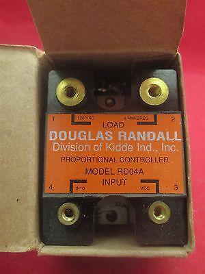 * DOUGLAS RANDALL SOLID-STATE RELAY 240VAC 25AMP MODEL JD25B-NZ          YG-109