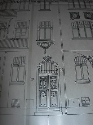 Vintage Architectural Scale Drawing Inventory And Documentation (17) 1980 Poland 5