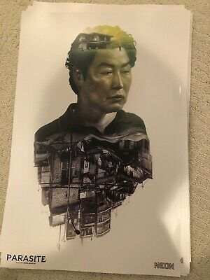 PARASITE 2019 Movie Poster Bong Joon-ho Kang-ho Song 11x17 Oscar Greg Ruth Mondo 5
