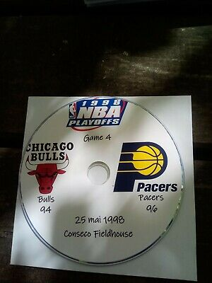 NBA Playoffs 1998 DVD Michael Jordan Bulls vs Pacers 4