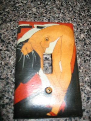 Coupla Really Cool Vintage Light Switch Plate Covers For Sale 2 Different Images 3