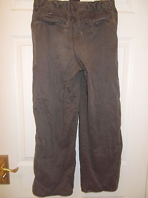 Marks and Spencer brown trousers age 10 3