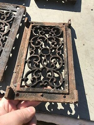 Rl 4 13 Av Price Each Antique cast-iron heating great with foot 4.75 x 8.5 9