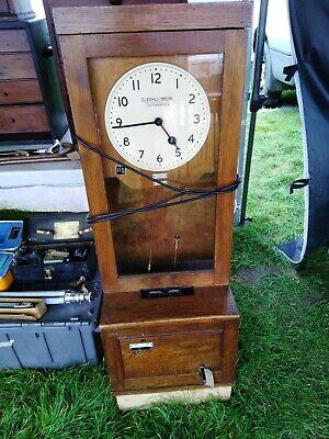 Vintage Clocking In Clock 5