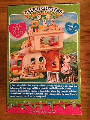 2 Of 7 Calico Critters Cc2109 Baby Play Nursery School New In Box
