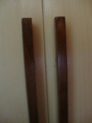 SUBTITLE ($1 50) New butsudan for regular size gohonzon  Pine w walnut trim