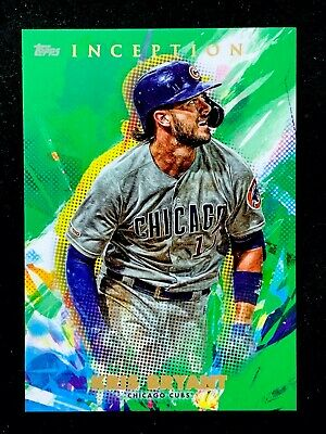 2020 Topps INCEPTION - GREEN Parallel Base Cards - U Pick to Complete Your Set!! 4