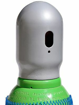 Bombola di gas 8 litri ARGON (82%) + CO2 (18%) inerte MIG saldatura + Riduttore 5